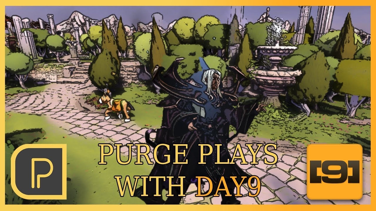 Purge - Purge plays Invoker 4 w/ Day9