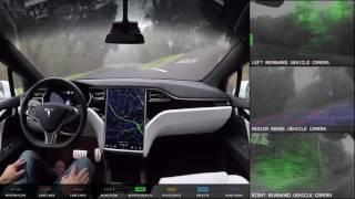 Autopilot Full Self Driving Demonstration Nov 18 2016 Realtime Speed
