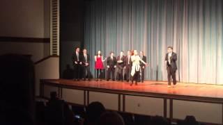 Portland High School talent show, 2016: Guns and Ships