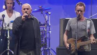 Twinkle by Peter Gabriel and Sting at STARMUS III