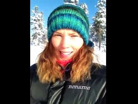 Tove Alexanderson taggad inför vintern