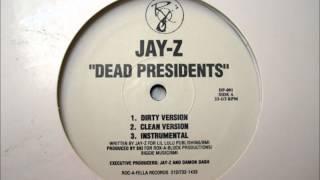 Jay-Z -- Dead Presidents (Instrumental) HQ