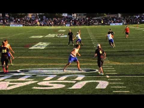 Video Thumbnail: 2015 National Championships: Women's Semifinal: San Francisco Fury vs. Seattle Riot