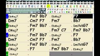 Band-in-a-Box: Selecting a Specific MIDI Track