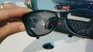 Remover espelhamento lente óculos de sol - Craquelada ou descascando