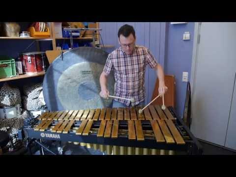 Han övar på 40 instrument - till samma konsert