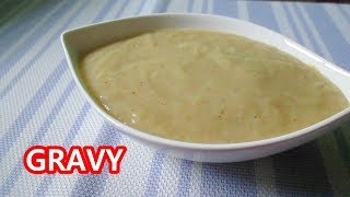 Gravy Recipe |  How to Make Gravy  | Gravy Sauce prices of  Ingredients