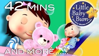 Bedtime Songs   Nursery Rhymes   42 Minutes Compilation from LittleBabyBum!