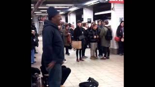 Mike Yung - Bump N' Grind (R. Kelly NYC Subway Cover)