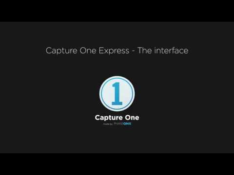 Capture One Express | Understanding the interface