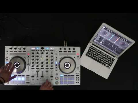 Pioneer DJ DDJ-SX DJ Controller with djay by Algoriddim - Scratch Session