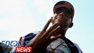 Lewis Hamilton abused after picking up his Formula One title in Paris