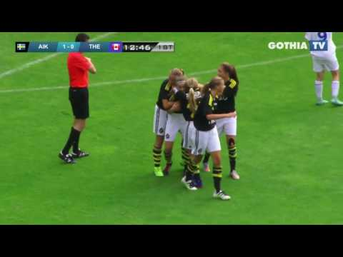 All the goals from G14 AIK FF - THE CALGARY FOOTHILLS SOCCER CLUB  in Gothia Finals 2016