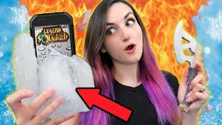 Breaking My Phone Out of ICE While Eating HOT SAUCE?! | Legend of Solgard Fire & Ice Challenge