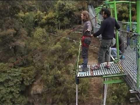Dustin Kerschtien-160 Meter Bungee in Nepal-The Last Resort