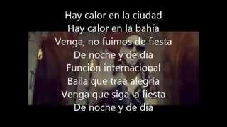 Letra  ''Noche Y De Dia'' Enrique Iglesias ft. Yandel & Juan Magan