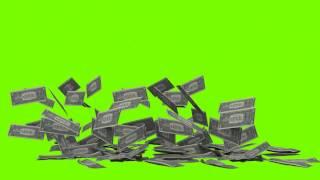 green screen falling money MLG materials