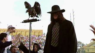 The Undertaker makes an ominous entrance at WrestleMania IX