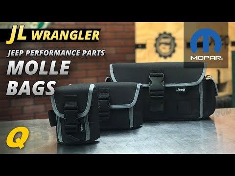 Mopar MOLLE Bags for Jeep Wrangler JL Rubicon