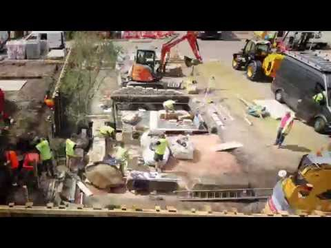 RHS Chelsea Flower Show 2016: Time-lapse build of The M&G Garden