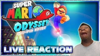 Super Mario Odyssey Trailer Live Reaction | Nintendo Switch Direct Live Reaction