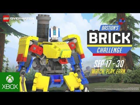 Overwatch Event   Bastion's Brick Challenge