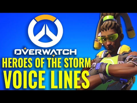 Overwatch Voice Lines from Heroes of the Storm