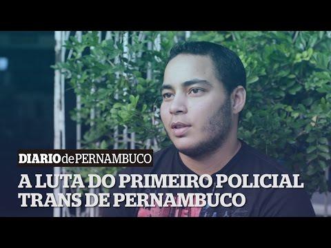 O soldado Marcelo dos Santos conta sua hist�ria de luta