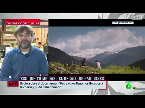 """Évole, sobre su última charla con Pau Donés: """"De alguna manera, sigue vivo"""" - Al Rojo Vivo"""