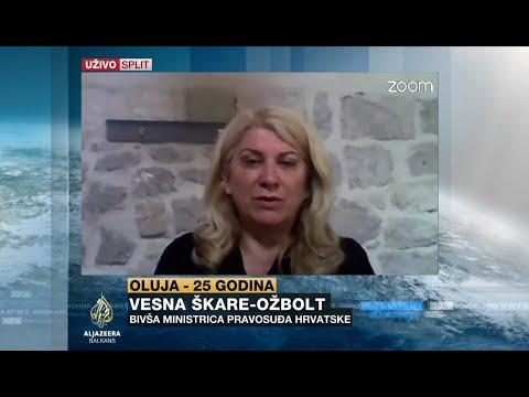 Škare Ožbolt: Srbija ne želi normalizaciju odnosa Srba i Hrvata u Hrvatskoj