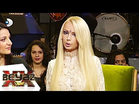 Gerçek Barbie Bebek Valeria Lukyanova - Beyaz Show
