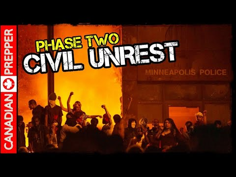 Civil Unrest Spreads Nationwide: Economic Collapse / Martial Law