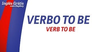 Verbo to be - inglesgratiscomdaphny