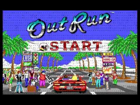 Memorias MSDOS: Out Run (Sega)