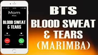 Latest iPhone Ringtone - Blood Sweat & Tears Marimba Remix Ringtone - BTS