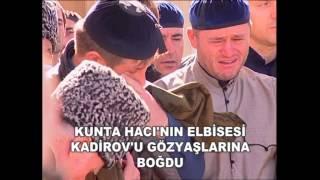 Kunta Hacı'nın Elbisesi Kadirov'u Gözyaşlarına Boğdu / Рамзан Кадыров плачет