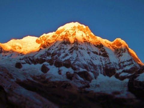 Annapurna Base Camp trek 2012