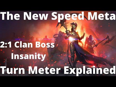 2:1 Clan Boss Speed Meta/Turn Meter Explained feat. DeadwoodJedi I Raid Shadow Legends