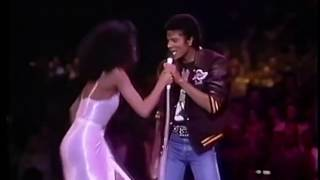 Diana Ross & Michael Jackson - Upside Down HD - Live in Los Angeles, 1981