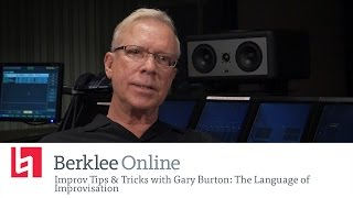 Jazz Improv Tips & Tricks With Gary Burton: The Language of Improvisation