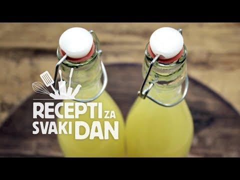 Sok od naranče i limuna - video recept