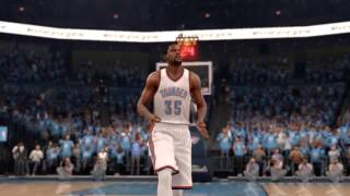 NBA LIVE 16 KD gettin in that zone