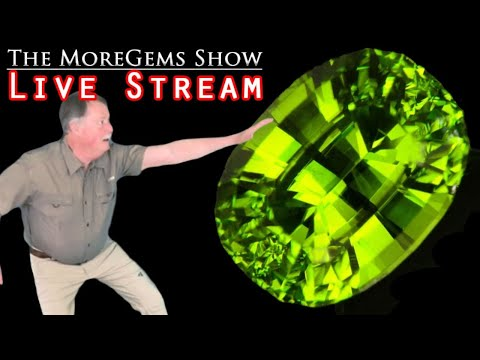 The MoreGems Gem Show LIVE |  Ring Sized Stones! 4/29/2020