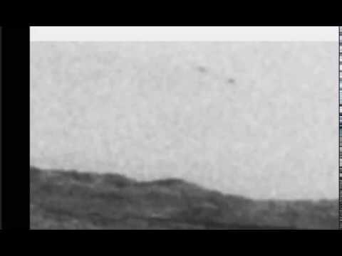3 UFO's Pass In Front of The Mars Rover