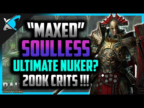 """MAXED"" SOULLESS 