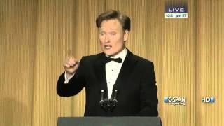 Conan O'Brien remarks at 2013 White House Correspondents' Dinner (C-SPAN)