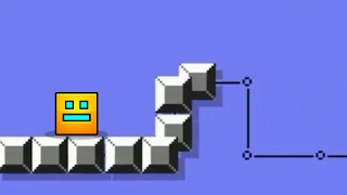 NEW GAME PLAY IDEA~ | Geometry Dash 2.1 - Snake Jump (Super Mario Game Mode) #SnakeSnake ( ͡° ͜ʖ ͡°)