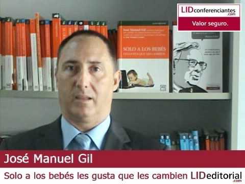 Conoce a José Manuel Gil, experto en la gestión del cambio
