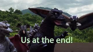 """Uptown Chaos"" (Ft. Godzilla & co.) Uptown Funk Parody"