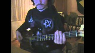 HIM - Wicked Game (bass cover)